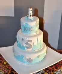 frozen themed birthday cake 5 featuring elsa u0026 olaf