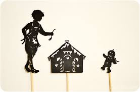 the gingerbread man shadow puppet printables adventure in a box