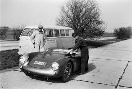 Porsche 1954 The Chicane 550 Shakedown Run