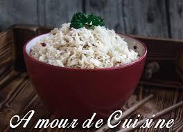cuisine riz comment réussir la cuisson du riz amour de cuisine