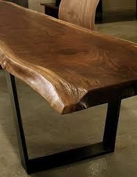 Dining Room Wood Tables Best 25 Wood Slab Table Ideas On Pinterest Wood Table Wood