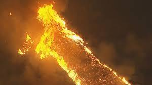 brush fire burns in silverado canyon in orange county evacuations