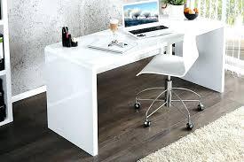 White High Gloss Office Desk Glossy White Desk Gloss White Desk Gloss Workstation Desk With