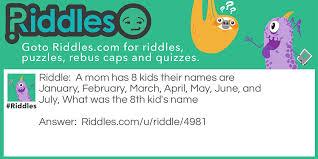 All Meme Names - month names riddles com