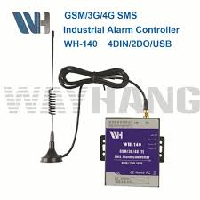 Home 4g by 3g 4g Gsm Remote Control Access Controller Via Sms 4 Inputs 2