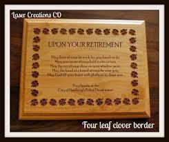 retirement plaque wording 9 best retirement plaque images on retirement