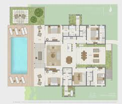 Villa Interior Design Ideas by 4 Bedroom Villa Paleovelo Com