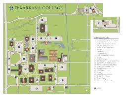 campus map texarkana college