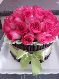 birthday flower cake fresh flower cake birthday cakes be my