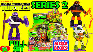 teenage mutant ninja turtles teenage mutant ninja turtles mega bloks blind bags series 2 youtube