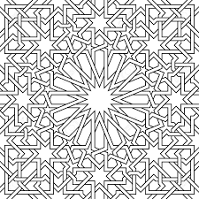 moroccan pattern it s a vector used in architectural design for