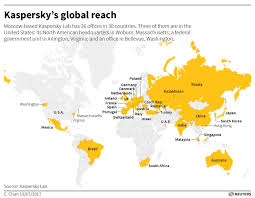 Japan Usa Map by U S Government Crackdown Threatens Kaspersky U0027s American Dream