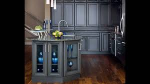 dark gray kitchen cabinets youtube