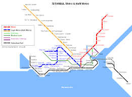 istanbul metro map istanbul map detailed city and metro maps of istanbul for