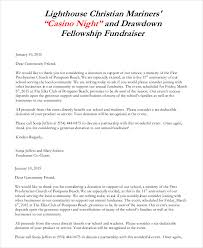 donation letter 9 free sample example formart free