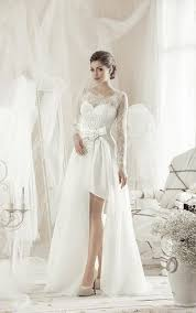 high low wedding dress with sleeves hi low wedding dress high lo bidals dresses dorris wedding