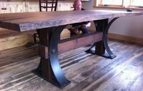 Oak Slab Table by Stunning Live Edge White Oak Table