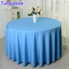 banquet table linens wholesale aliexpress com buy turquoise colour wedding table cover table