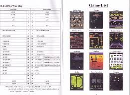 icade 60 in 1 multicade system games list and manual