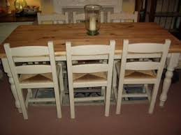STUNNING SOLID PINE KITCHENDINING TABLE   CHAIRS ANNIE SLOAN - Old pine kitchen table