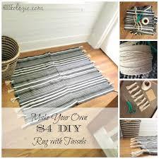 Diy Rug 4 Diy Rug With Tassels Houseologie