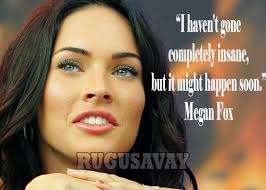 megan fox quotes with pictures