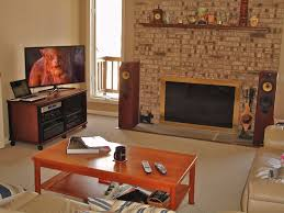 Living Room Speakers Advice From Those With A Fireplace In Their Listening Room