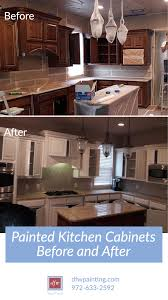 best way to degrease kitchen cabinets before painting painted kitchen cabinets before and after dfw painting