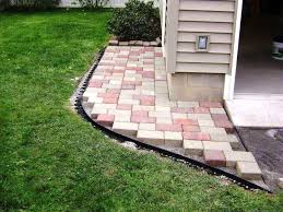 landscaping pavers cost enchanting landscape design with exciting