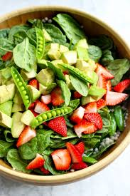 israeli couscous salad with strawberries snap peas u0026 lemon poppy