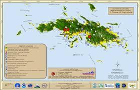 st croix caribbean map us islands unveils tsunami evacuation maps