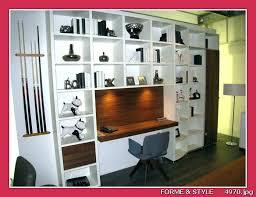 bibliothèque avec bureau intégré armoire bureau integre lit armoire avec bureau integre ikea