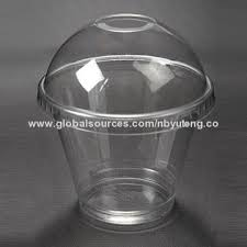 plastic cups with lids china plastic cup disposable material with lids cold beverages