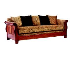sofa styles deluxe brown wooden base traditional sofas frame with brown fabric