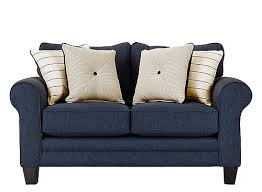 Dark Blue Loveseat Loveseats And Leather Loveseats Raymour And Flanigan Furniture