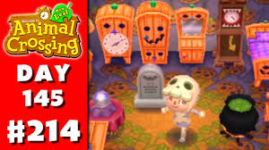 animal crossing new leaf part 214 halloween nintendo 3ds