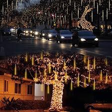 outdoor string lights rain amazon com lalapao outdoor christmas string lights solar powered
