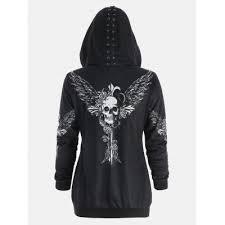 womens lace up hoodie best deals online shopping gearbest com