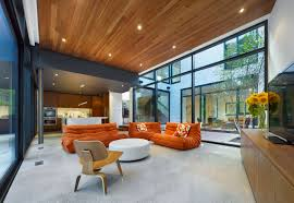 decoration sophisticated wood accents applied in cedarvale ravine