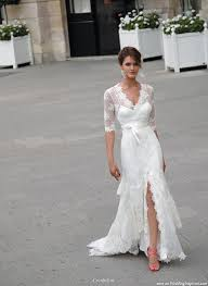 wedding dress for big arms walking the aisle brides with sleeves do it better wedding