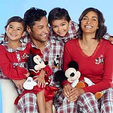 disney mickey and minnie mouse family sleepwear collection
