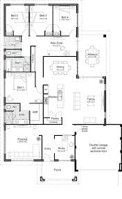 awesome floor plans open concept homes kitchen on contemporary