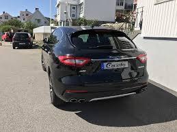 maserati levante trunk maserati levante s 3 0 v6 q4 automatic 430hp 2017
