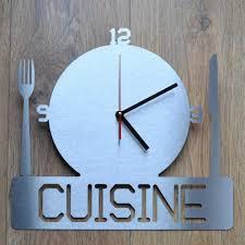 davaus net horloge murale pour cuisine avec des id礬es