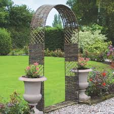 bamboo garden arch trellis u2013 outdoor decorations