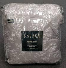 Ralph Lauren Comforter Queen Amazon Com Ralph Lauren Cottage Hill Gray And White Floral Queen