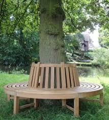 circular wooden tree bench design pinterest outdoor wooden