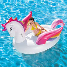 amazon pool floats buy intex inflatable mega pegasus island water pool float by int x
