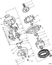 каталог запчастей mercruiser остальные 7 4l bravo gen v gm 454