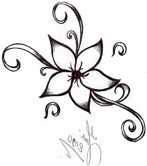 cool designs cool and easy flowers to draw cool simple flower designs to draw